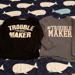 Trouble maker T-shirt's - 3T